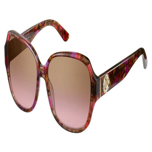 Juicy Couture Square Women Pink Acetate Frame